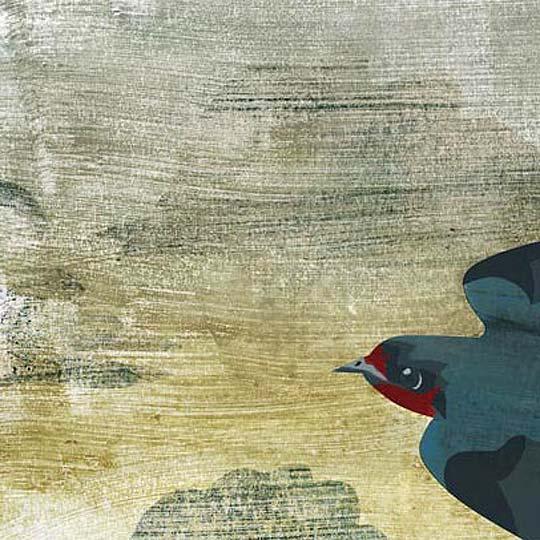 Ilustración. Andorinha de GUSTAVO BEROCAN