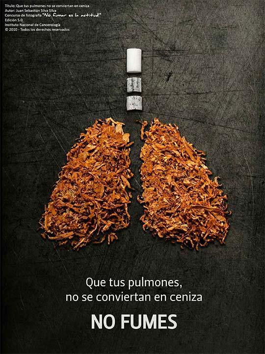 Concurso de fotografía No fumar es la actitud