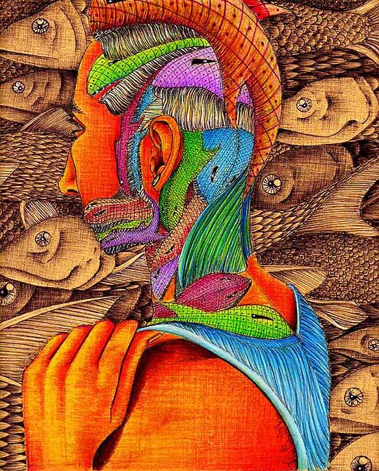 Ilustración. El sueño de la ballena de ADRÍAN ESTADA