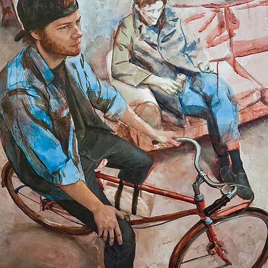 Ilustración, escultura y pintura de ELLIOT BROWN