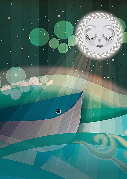 Ilustración en detalle de CAROLINA TORRES
