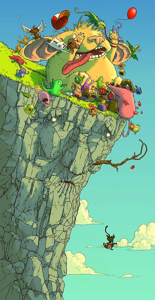Ilustración y color de JONATAN CANTERO
