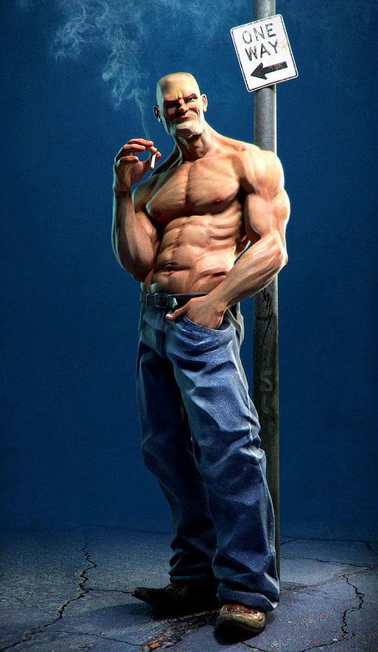 Ilustración 3D y Personajes de JOSE ALVES DA SILVA