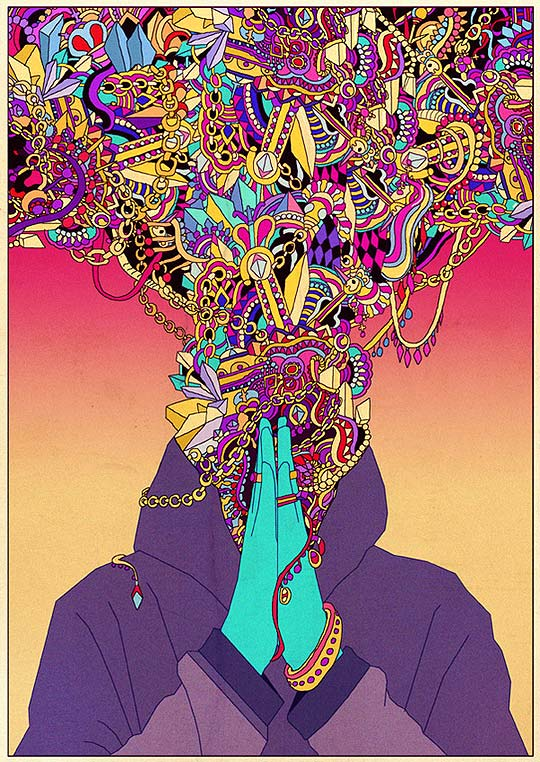 Ilustración, surrealismo y color de KILIAN ENG