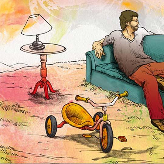 Ilustración, La Casa de mis Sueños, ANDRÉS RODRÍGUEZ