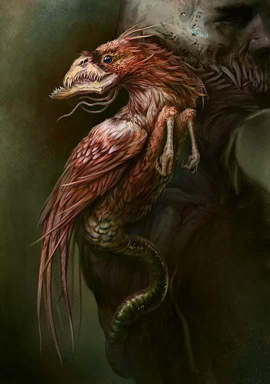 Concept Art y criaturas de MAXIM VEREHIN