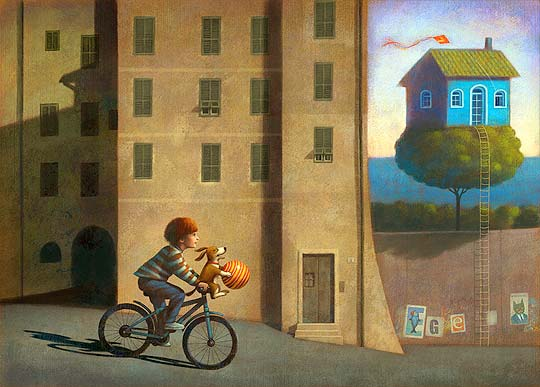 Ilustración infantil y digital de PAOLO DOMENICONI