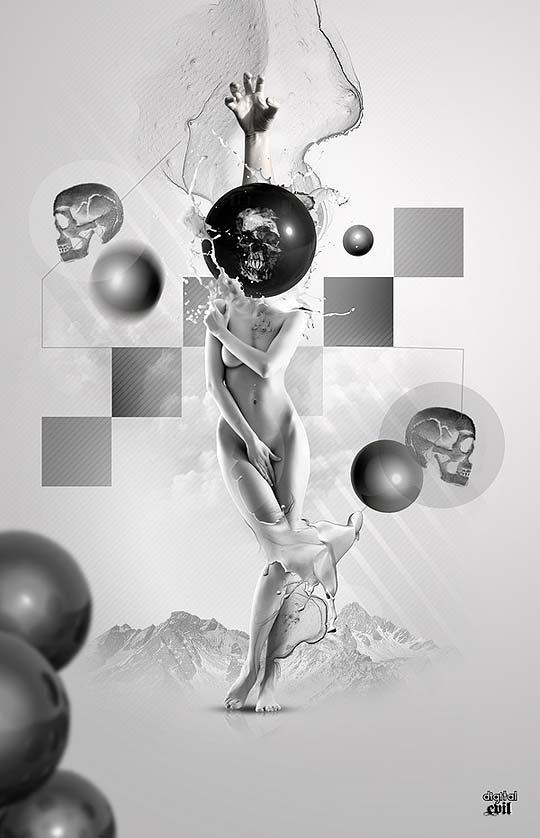 Ilustración 3D y diseño de PETER TARKA