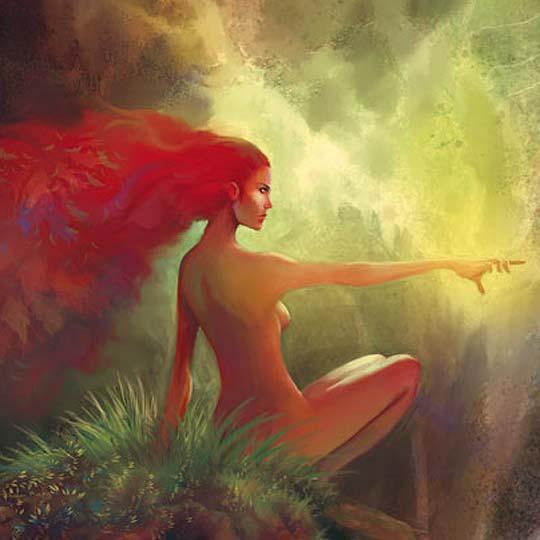 Ilustración. Spirit of Spring de OSCAR PÉREZ