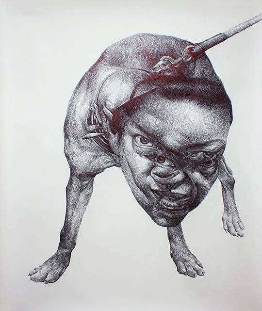 Ilustración con algo de terror de SPUNKY ZOE