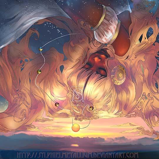Ilustración y fantasía de SYLPHIEL METALLIUM