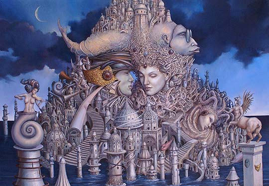 Ilustración, arte y surrealismo de TOMEK SĘTOWSKI