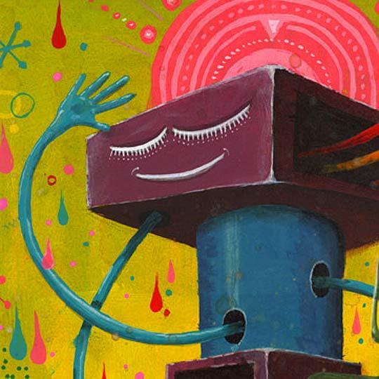 Ilustración y detalles de ANDRES AGOSIN Aka MONK