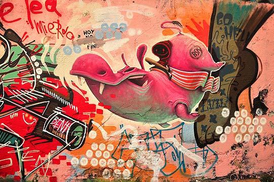 Ilustración y arte urbano de ANTONIO SEGURA DONAT
