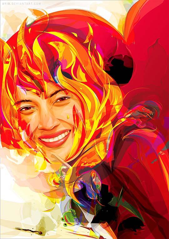 Ilustración vectorial y colorida de AYIB MAKMUN ARIF