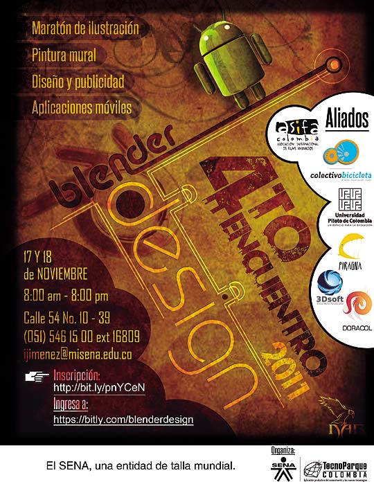 4to Encuentro Blender Design - Tecnoparque Colombia