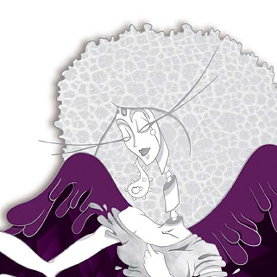 Ilustración. Bluewallpaper de ANDREA UROCK