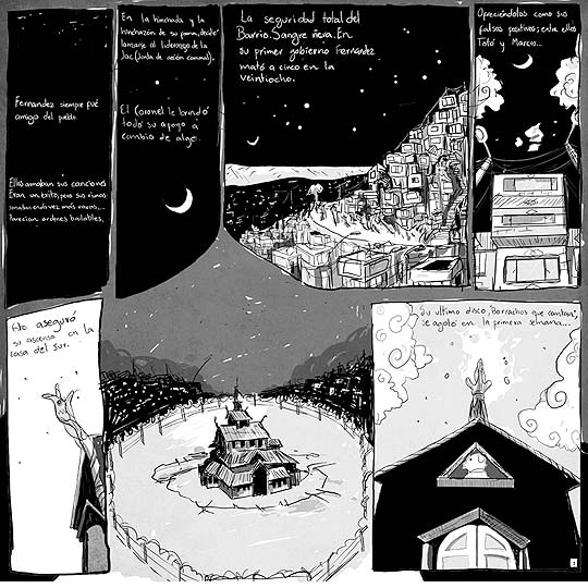 Comic vía La Vaca Rosa, 4 jinetes de JEAN PAUL ZAPATA