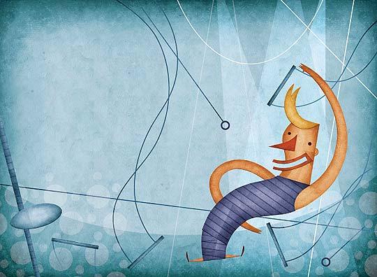 Ilustración, collage y gran estilo con DANIEL BUENO