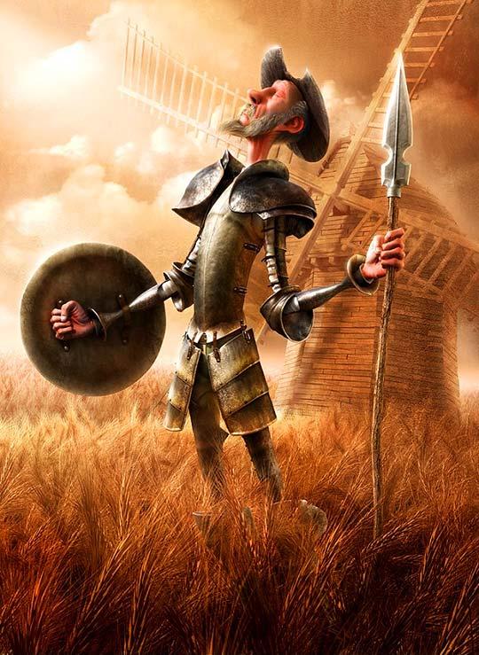 Ilustración 3D y personajes de FABRICIO MORAES