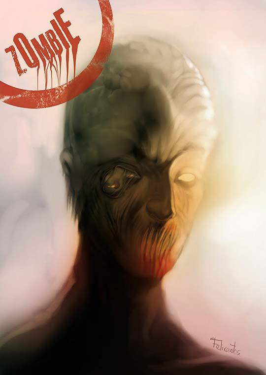 Ilustración, pintura, caricatura y zombies de FELIXANTOS