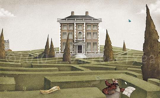 Ilustración infantil recién premiada de IBAN BARRENETXEA
