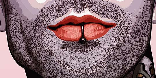 Ilustración. Travis Barker de JUAN DAVID GÓMEZ