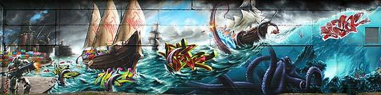 Arte urbano y… arte con MADC
