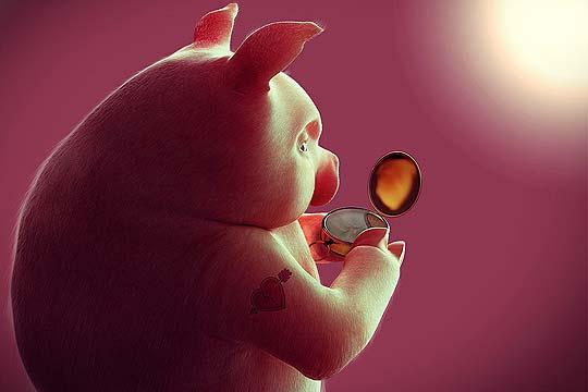 Ilustración 3D. Malomaloso de JORGE MONTERO COKECOCO