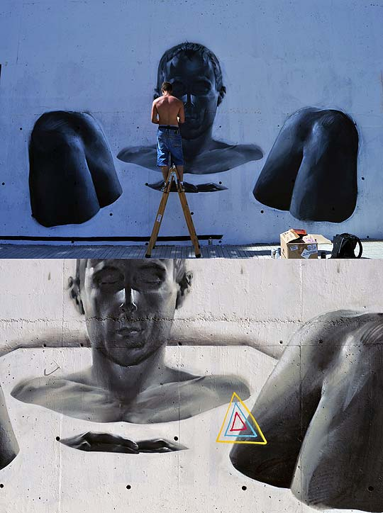 Graffiti y arte urbano de M-E-S-A