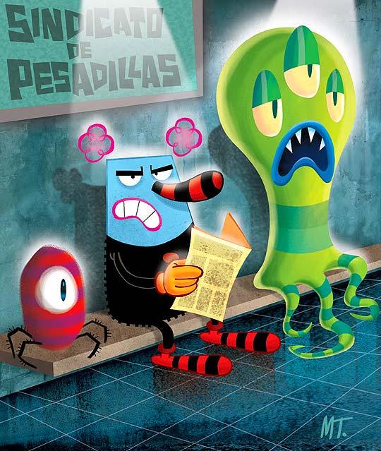 Ilustración y animación de MARKO TORRES
