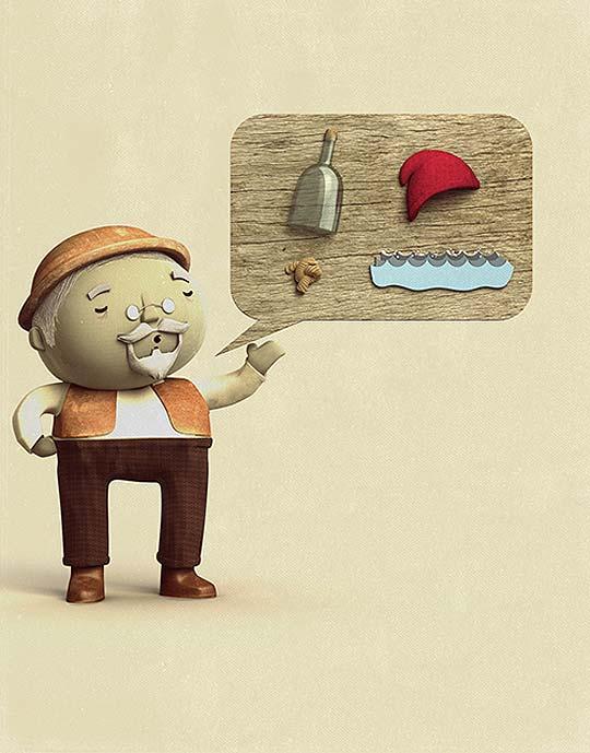 Ilustración infantil y digital de MATHIAS TOWNSEND