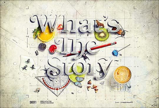 Arte digital y diseño de MIKA MELVAS
