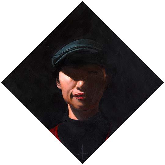 Pintura al oleo de NIGEL COX
