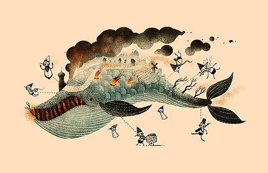 Animación e ilustración. Reel de SCOTT BENSON