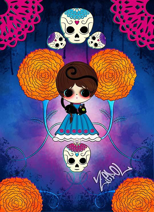 Ilustración de NORMA LÓPEZ Aka ZEPOL