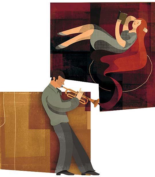Ilustración, música y texturas de ANDREW LYONS