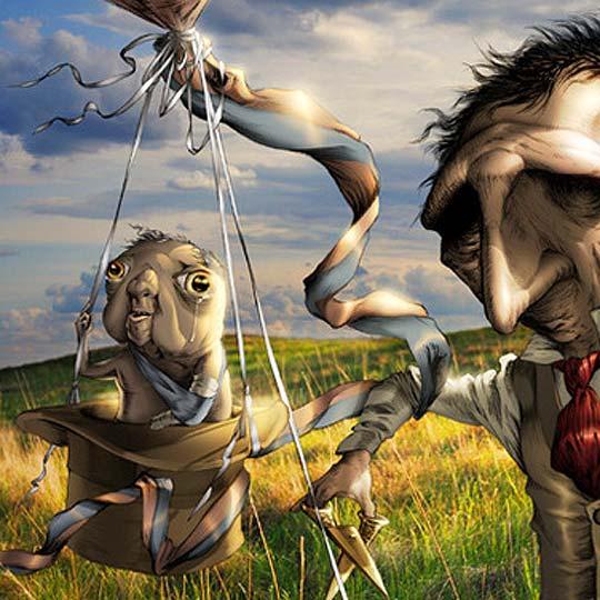 Ilustración. Criaturas raras de CLIFTON HARVEY