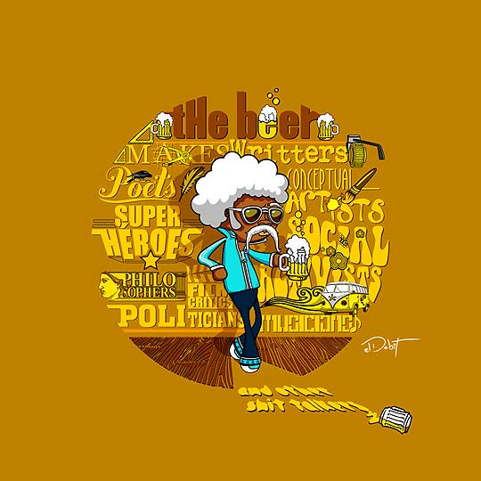 Ilustración. Portafolio de DAVID PINILLA Aka ELDABIT.