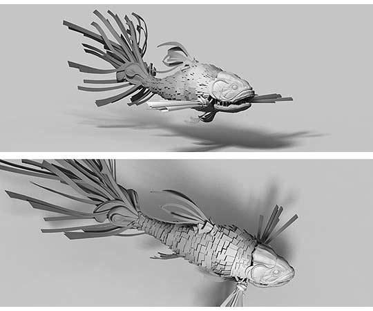 3D y motion graphics. Portafolio de DIESTRO