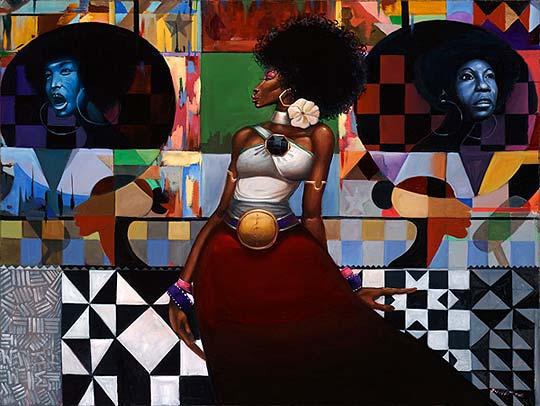 Dibujo, pintura y ritmo de FRANK MORRISON.