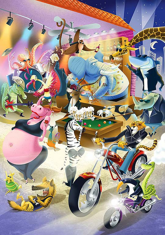Ilustración y diseño. Portafolio de GUILLE CUBILLOS.
