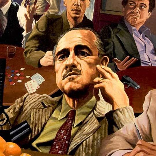 Ilustración. Escenas complejas de JUSTIN REED.