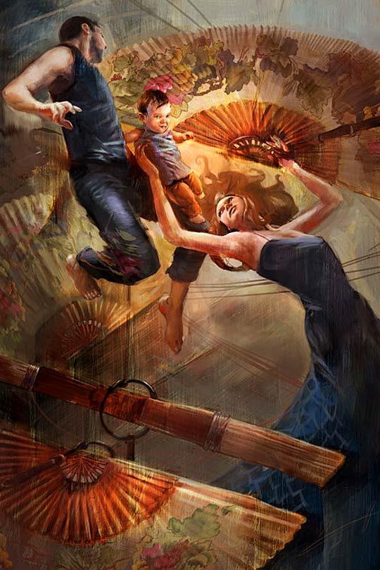 Arte para videojuegos y concept art de MARC SCHEFF
