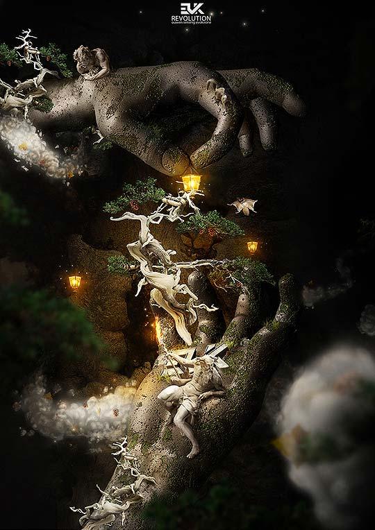 Arte digital. Portafolio de OLLI-PEKKA JAUHIAINEN.