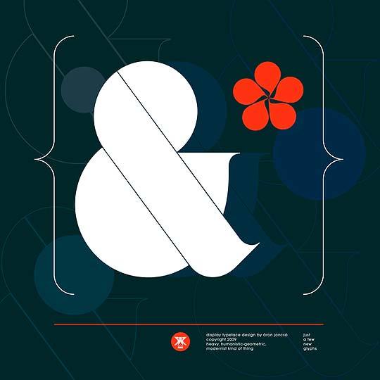 Diseño, tipografía y poster de ARON JANSCO