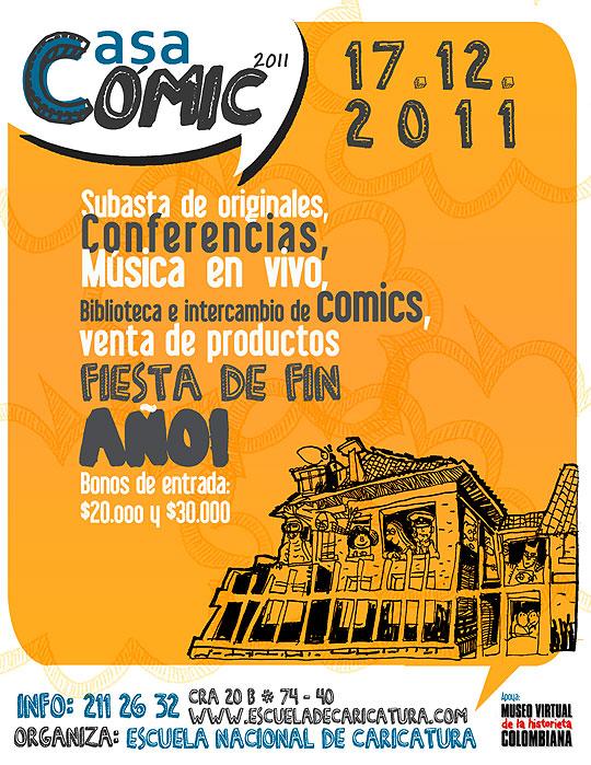 Festival CASA CÓMIC 2011