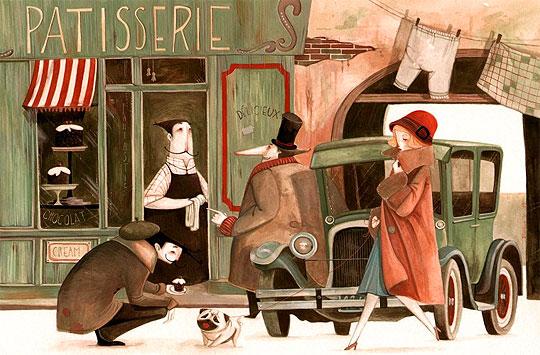Ilustración de DANIELA  VOLPARI