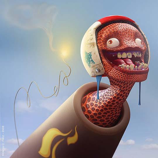 Personajes y arte digital de DENIS C. FELIZ