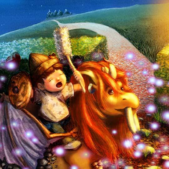 Ilustración. Juegos nocturnos de SARA BALSERA PAVO